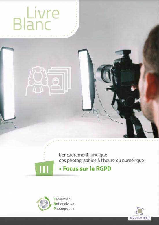 Livre blanc - Focus sur le RGPD et les conséquences pour le photographe